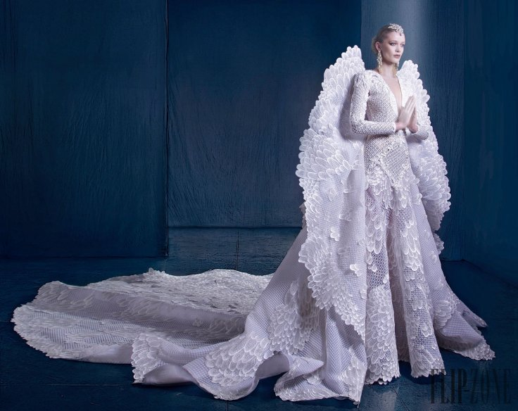 Nicolas Jebran Fall 2016 Couture Look 38