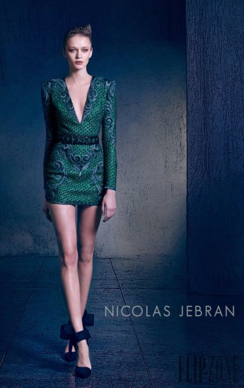Nicolas Jebran Fall 2016 Couture Look 4