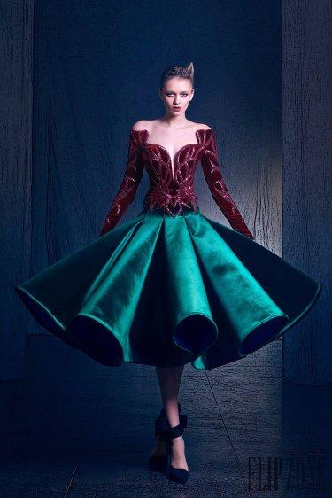 Nicolas Jebran Fall 2016 Couture Look 5