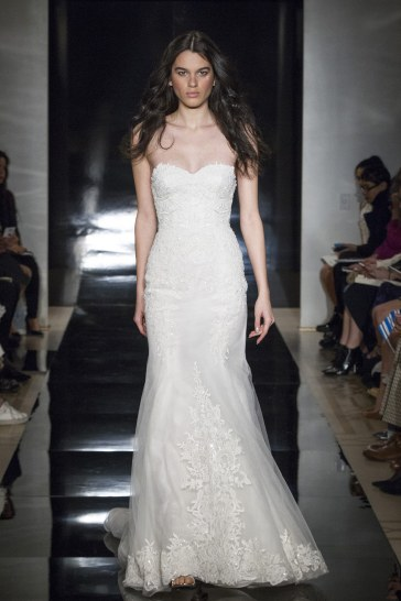 Reem Acra Bridal Spring 2017 Look 13