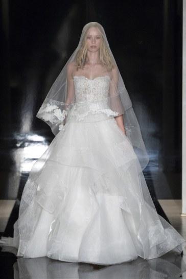 Reem Acra Bridal Spring 2017 Look 25