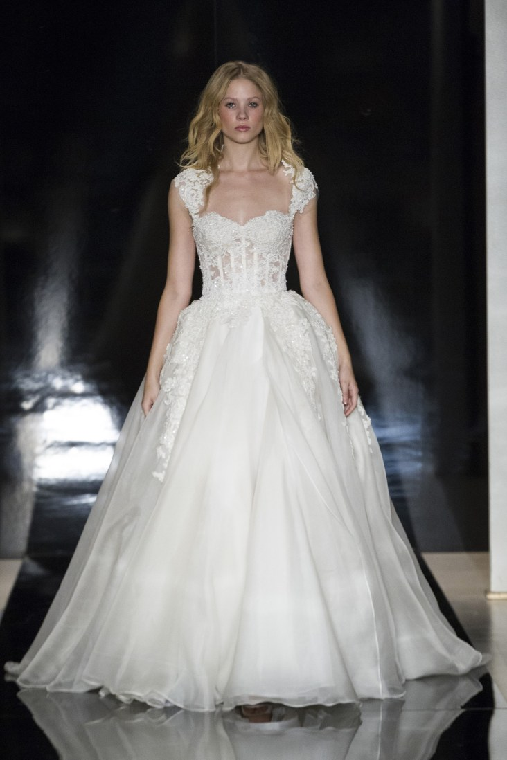 Reem Acra Bridal Spring 2017 Look 27