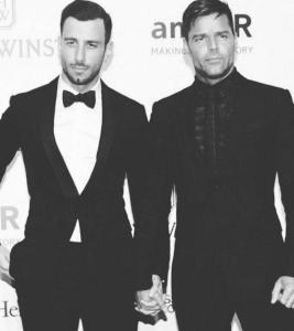 2016 amfAR Inspiration Gala— Ricky Martin & Jwan Yosef -2016.4.17-