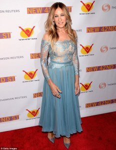 The 42nd Street 25th Anniversary Gala— Sarah Jessica Parker -2016.4.12-