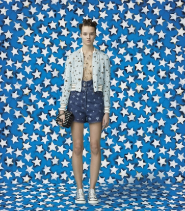Valentino Wonder Woman Capsule Collection Look 1