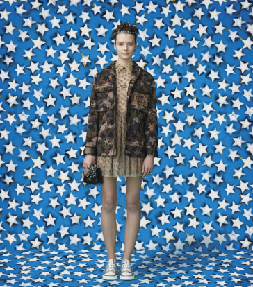 Valentino Wonder Woman Capsule Collection Look 2