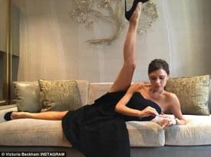 Victoria Beckham抬腿 -2016.4.1-