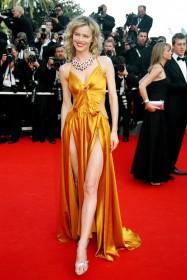 2006 Cannes Eva Herzigova in Anna Molinari