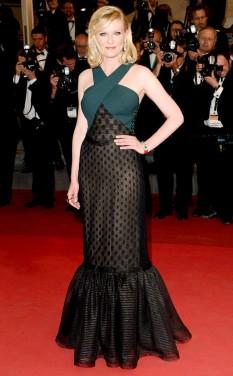 2011 Cannes Kirsten Dunst in Rodarte