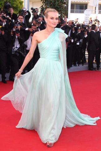 2012 Cannes Diane Kruger in Giambattista Valli