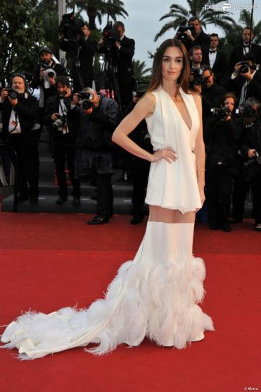 2013 Cannes Paz Vega in Stéphane Rolland Spring 2013 Couture
