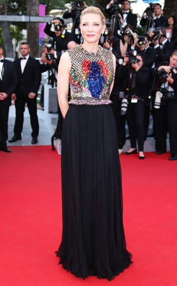 2014 Cannes Cate Blanchett in Givenchy Fall 2014