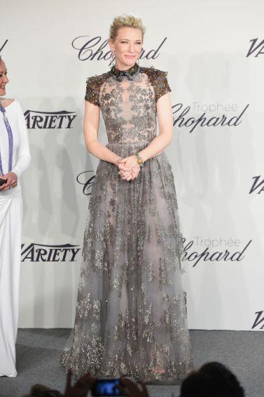 2014 Cannes Cate Blanchett in Valentino Pre-Fall 2014