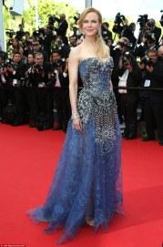 2014 Cannes Nicole Kidman in Armani Prive
