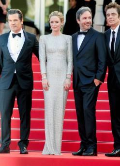 2015 Cannes Emily Blunt in Stella Mccartney