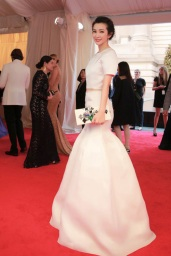 2015 Met Gala Li Bingbing in Christian Dior Spring 2013 Couture