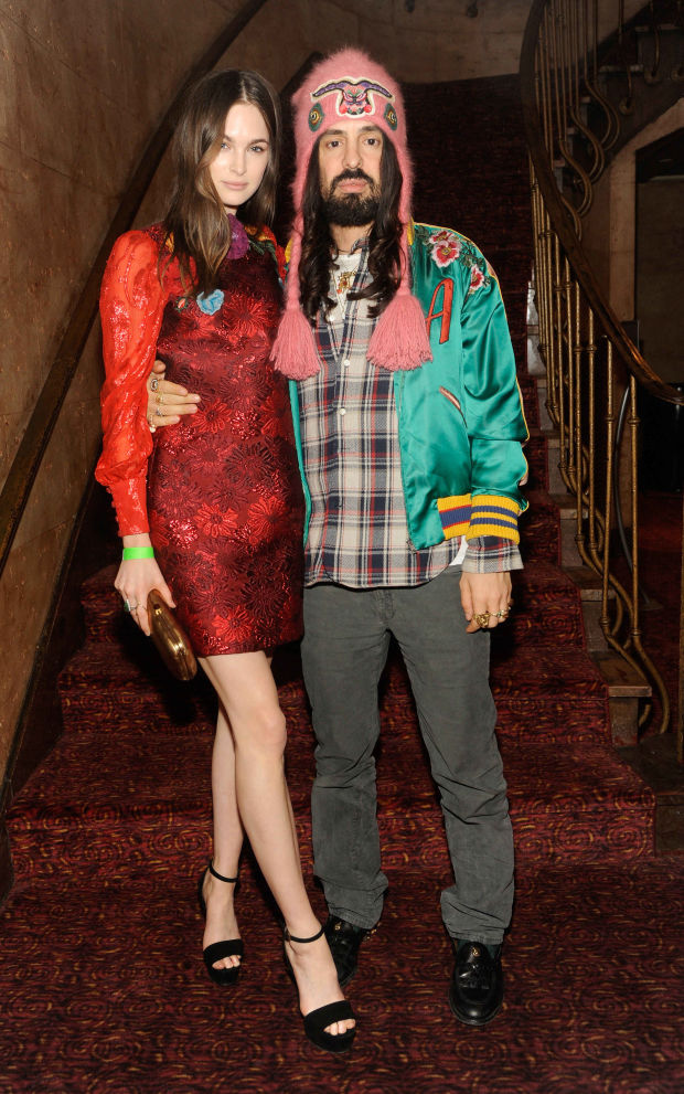 Chic lebrity florence the machine the odyssey screening for Gucci alessandro michele