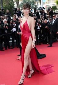 Bella Hadid in Alexandre Vauthier-1