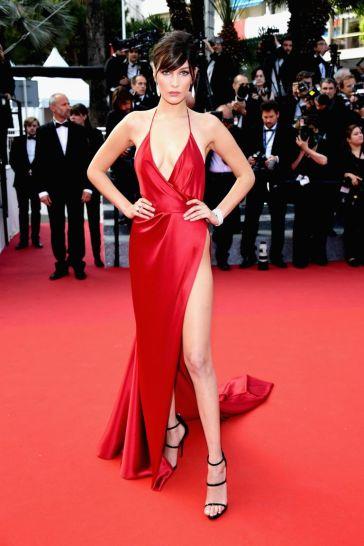 Bella Hadid in Alexandre Vauthier