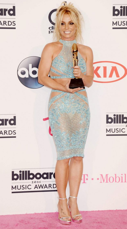 Britney Spears in Charbel Zoe