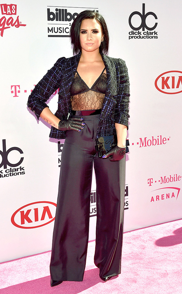 Demi Lovato in Chanel & House of CB
