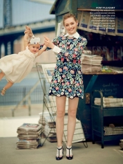 Gemma Ward Vogue Australia October 2014