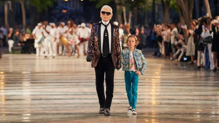 Karl Lagerfeld in Saint Laurent Spring 2016 Menswear-1