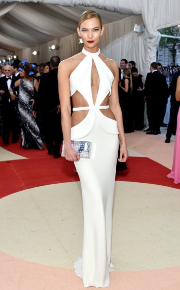 Karlie Kloss in Brandon Maxwell