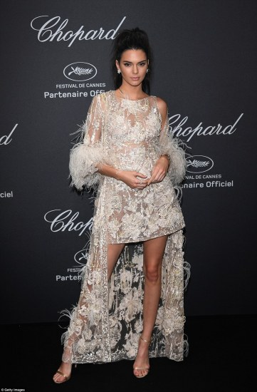 Kendall Jenner in Elie Saab Spring 2015 Couture