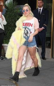 Lady Gaga in Ulyana Sergeenko -2016.5.12-