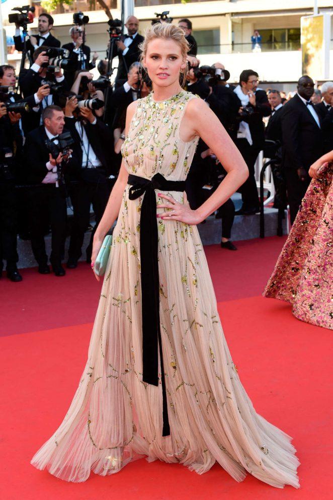 Lara Stone in Prada