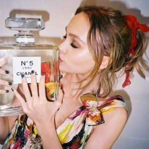Lily-Rose Depp X Chanel No. 5 L'Eau -2016.5.23-