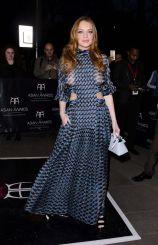 Lindsay Lohan in Fendi Spring 2016