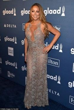 Mariah Carey in Mark Zunino Couture