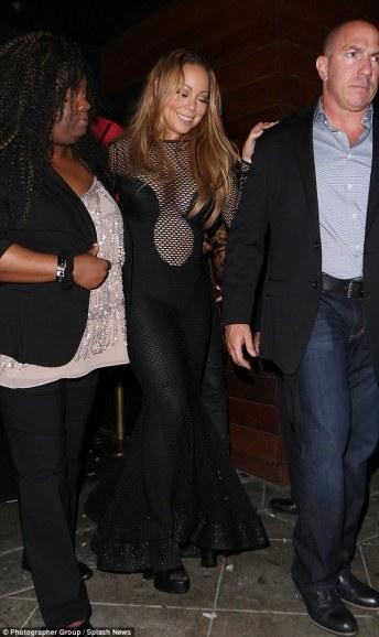 Mariah Carey in Michael Costello Fall 2016-1