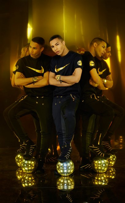 Olivier Rousteing Nike Football Nouveau