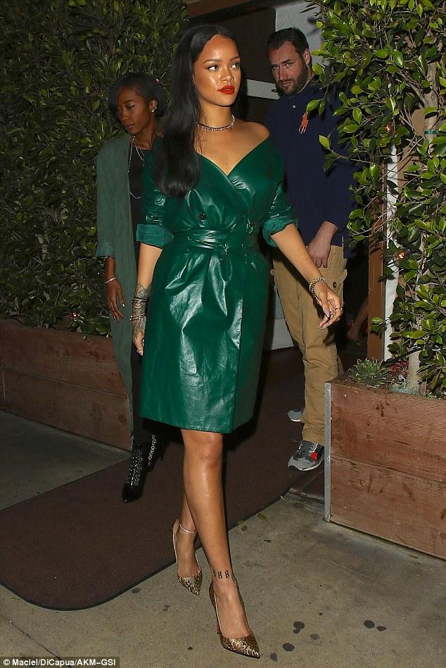 Rihanna in Nina Ricci Spring 2016