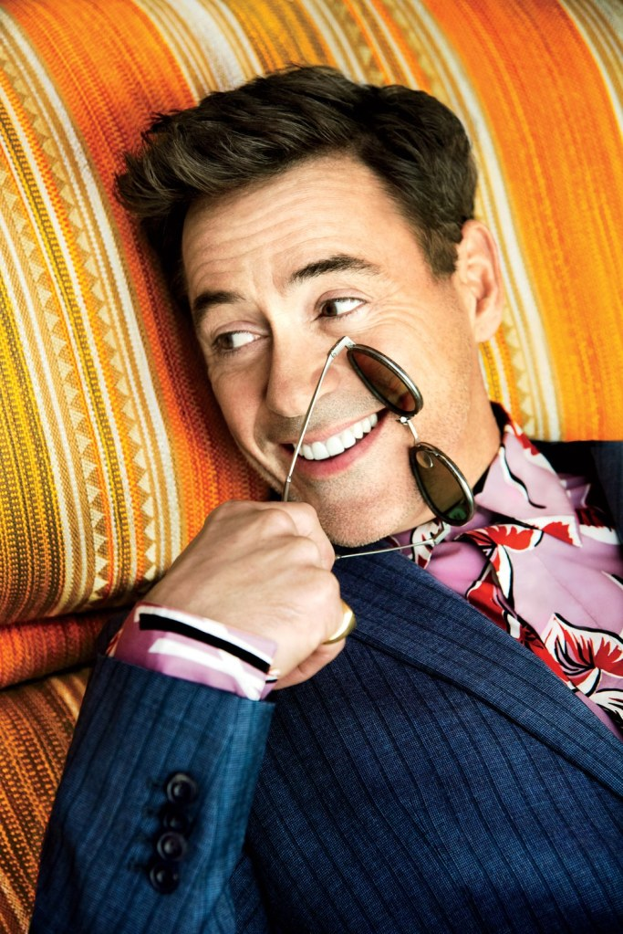 Robert Downey Jr GQ Style The Debut Issue