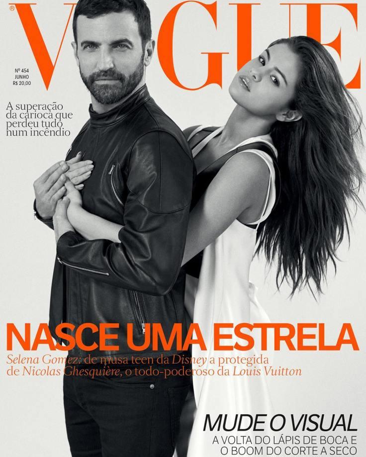 Selena Gomez & Nicolas Ghesquière Vogue Brazil June 2016 Cover
