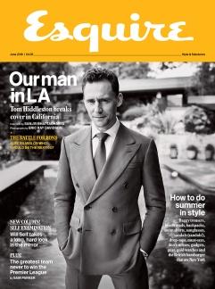 Tom Hiddleston Esquire UK June 2016 Cover 1