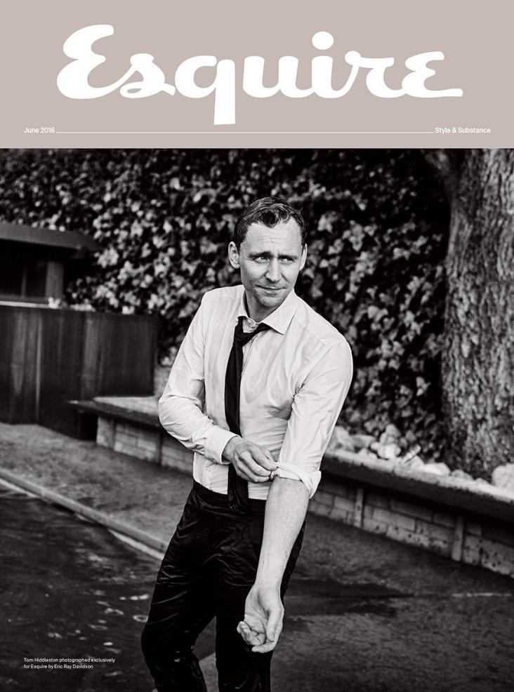 Tom Hiddleston Esquire UK June 2016 Cover 2