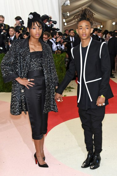 Willow Smith in Chanel Fall 2015 Couture & Jaden Smith in Louis Vuitton Fall 2016