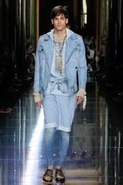 Balmain Spring 2017 Menswear Look 1