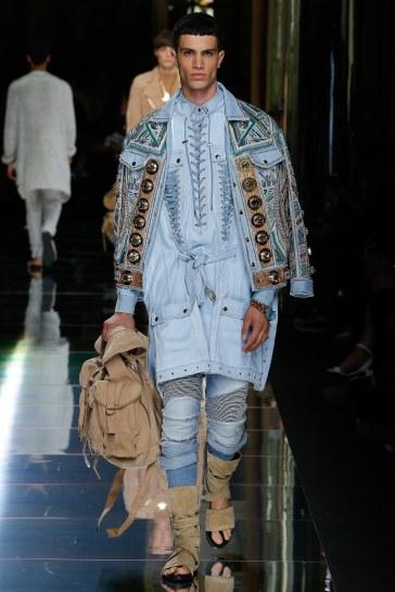 Balmain Spring 2017 Menswear Look 13