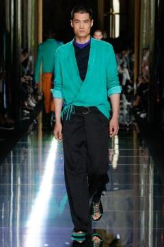 Balmain Spring 2017 Menswear Look 32