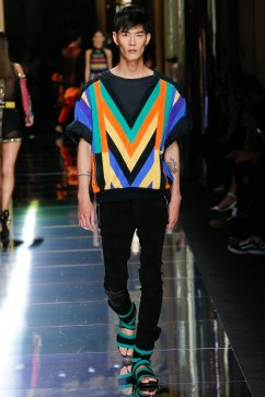 Balmain Spring 2017 Menswear Look 44