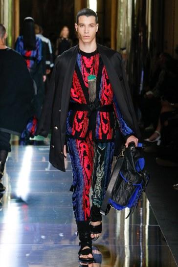 Balmain Spring 2017 Menswear Look 64