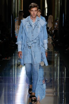 Balmain Spring 2017 Menswear Look 7