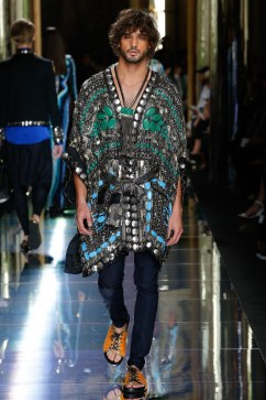 Balmain Spring 2017 Menswear Look 70