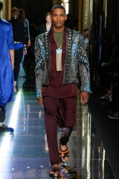 Balmain Spring 2017 Menswear Look 71